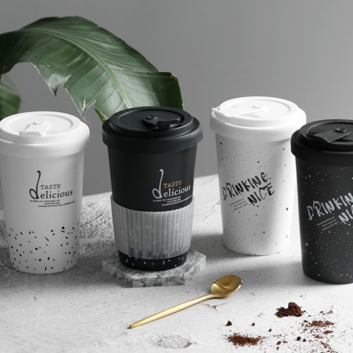 Ceramic Reusable Coffee Cup