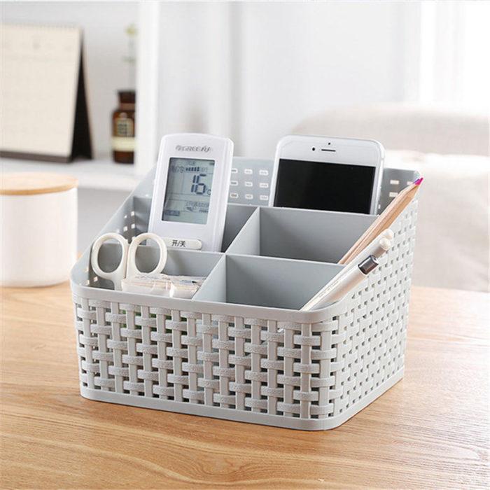 Skincare Organizer Multi-Compartment Box