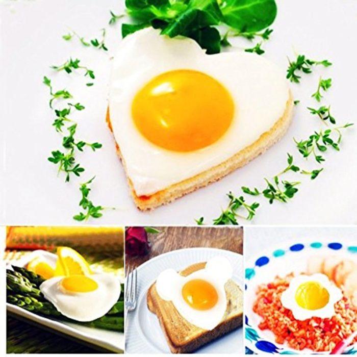 Egg Frying Mold 5-Molds Set
