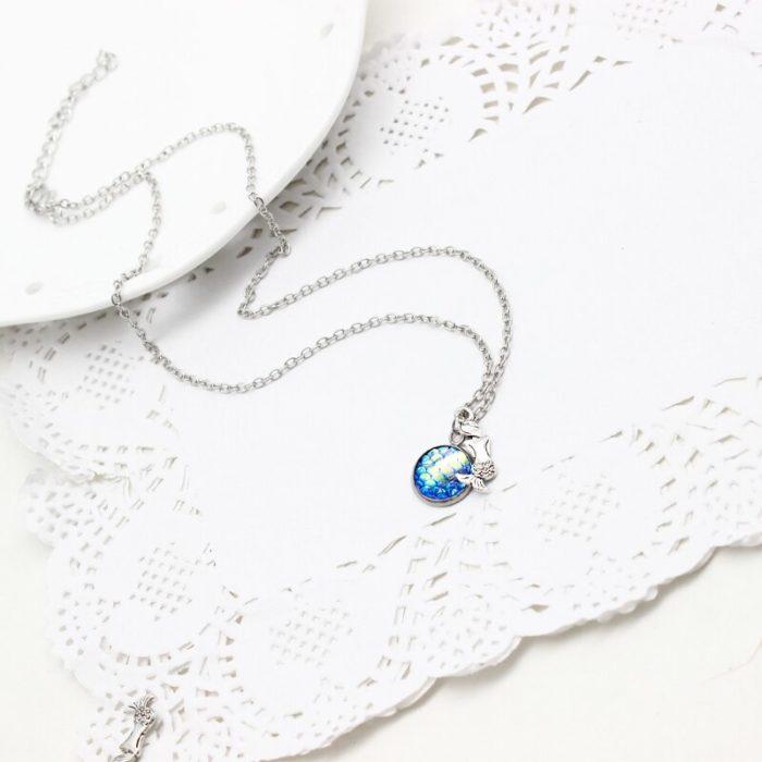 Mermaid Necklace Fashionable Ladies Jewelry