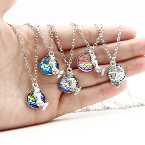 Mermaid Necklace Fashionable Ladies Jewelry