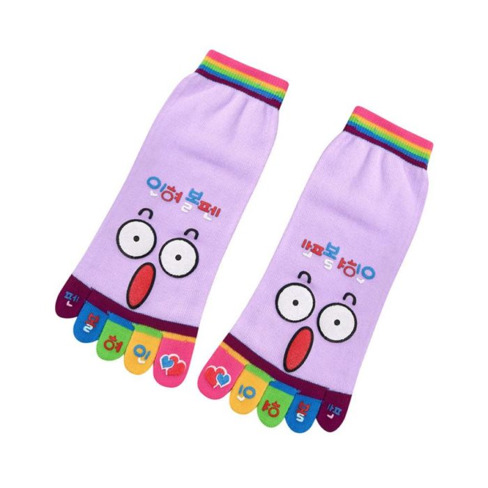 Finger Socks Funny Cartoon Design