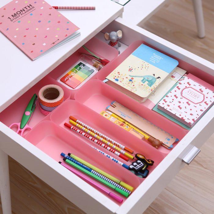 Kitchen Drawer Divider Storage Organizer