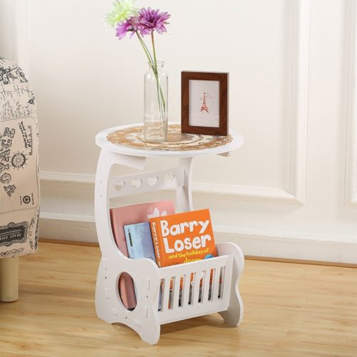 Small End Table with Storage