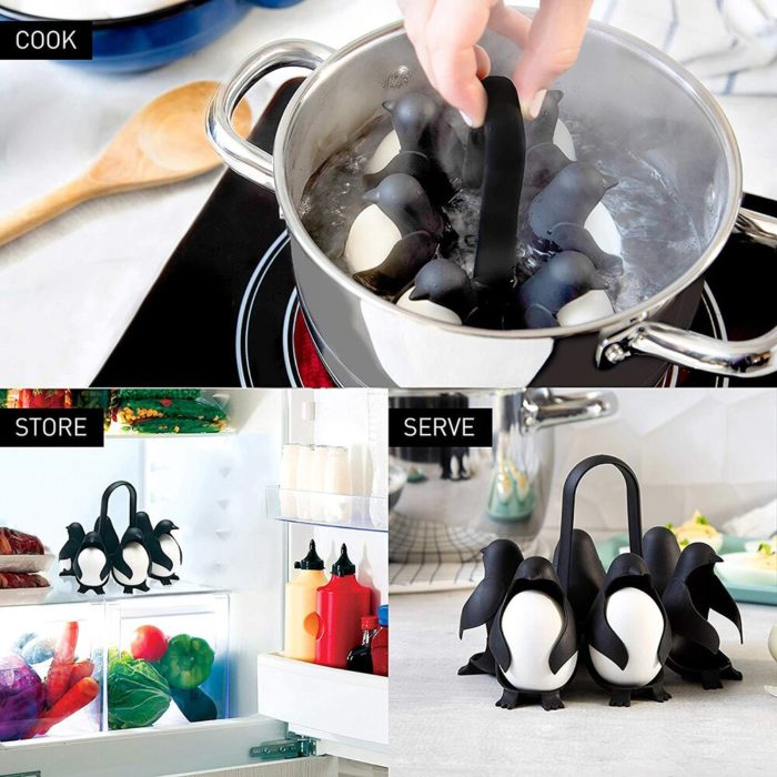 Penguin Egg Holder Boiling Tool