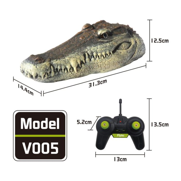 Remote Control Croc Head Crocodile Boat Toy