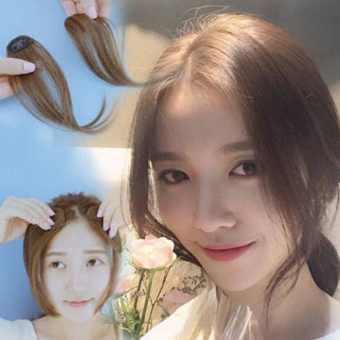 Clip-On Bangs Hair Styling Accessory