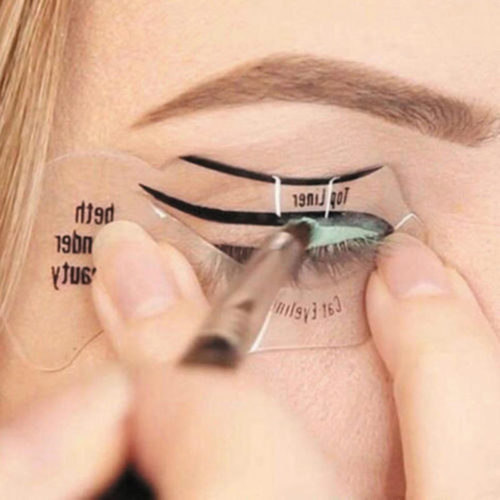 Eyeliner Stencils Makeup Guide (10 PCs)