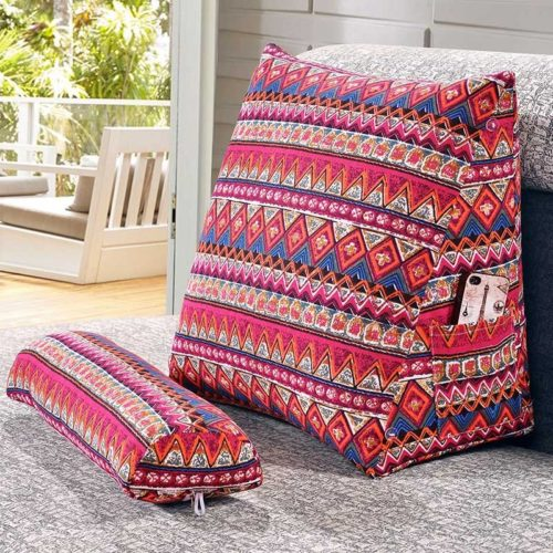Backrest Pillow for Bed Set (2pcs)