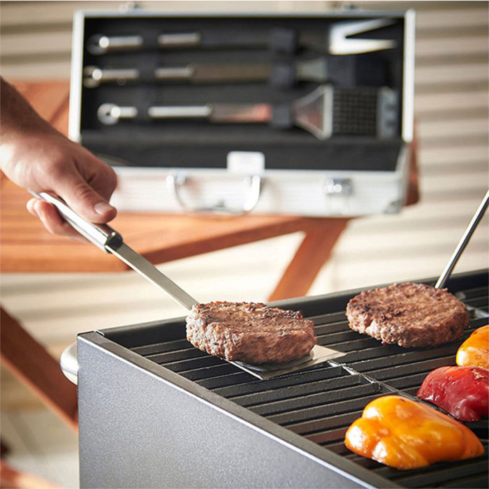 Grilling BBQ Tool Set with Case