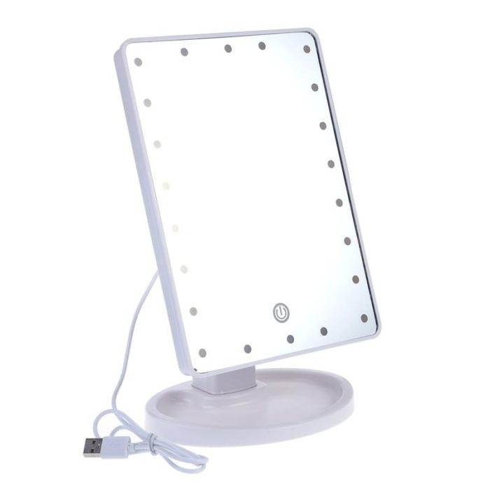 Vanity Mirror With LED Light Touch Screen
