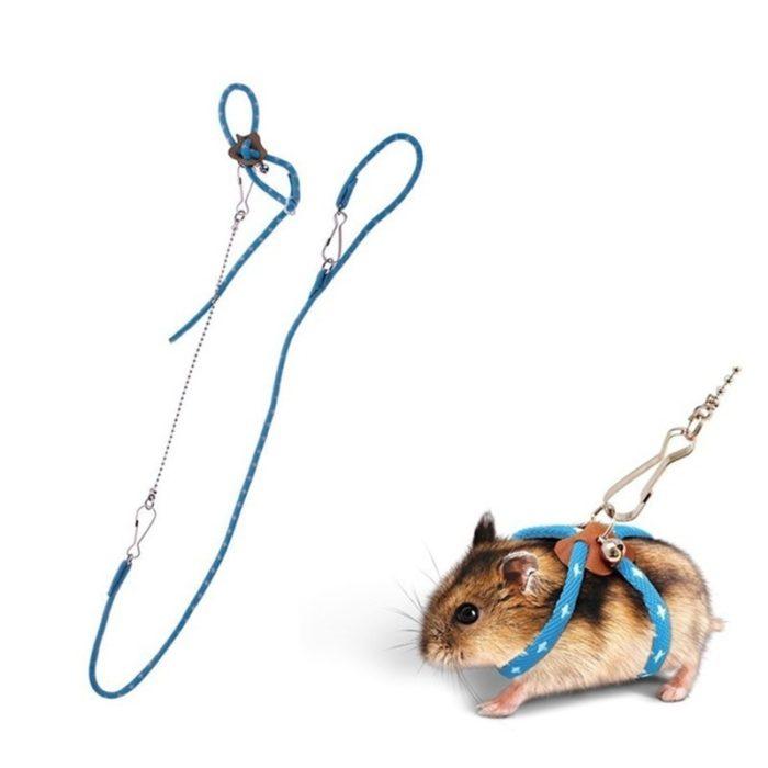 Hamster Leash Adjustable Body Harness