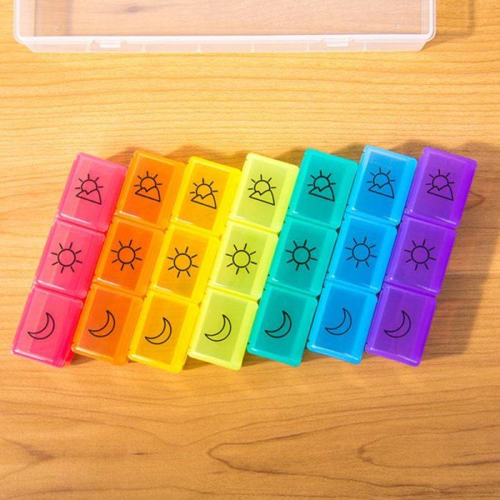 Week Pill Box 21-Grid Medicine Box
