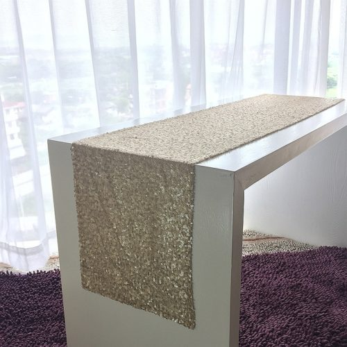 Sequin Table Runner Fabric Decor