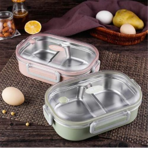Leakproof Stainless Steel Lunch Box For Kids
