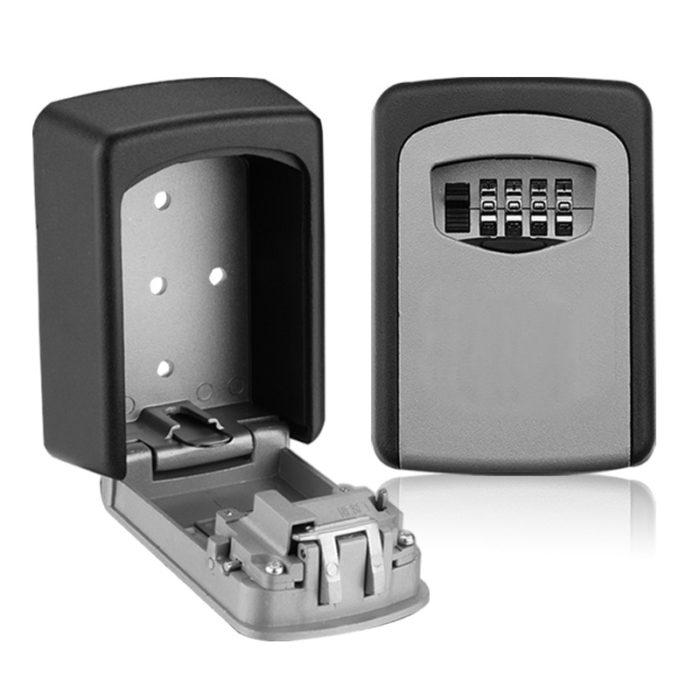 Wall Mount Lock Box Weatherproof Safe