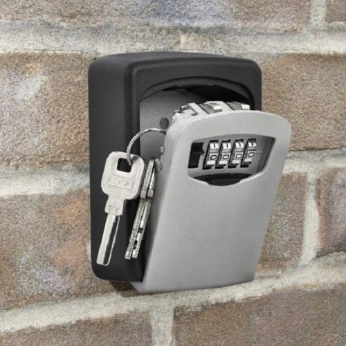 Wall Mount Lock Box Weatherproof Safe