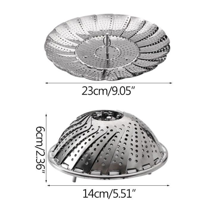 Steaming Basket Stainless Steel Steamer