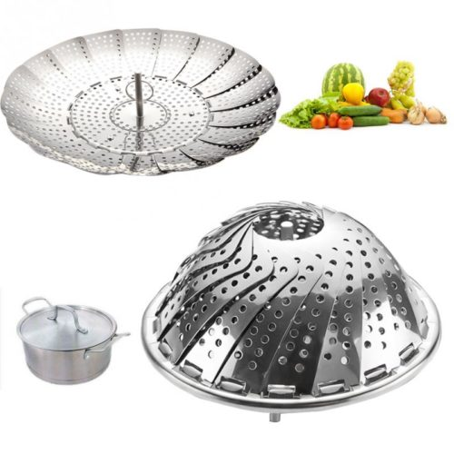 Steaming Basket Stainless Steel Steamer