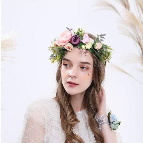 Flower Crown Headband Hair Accessory