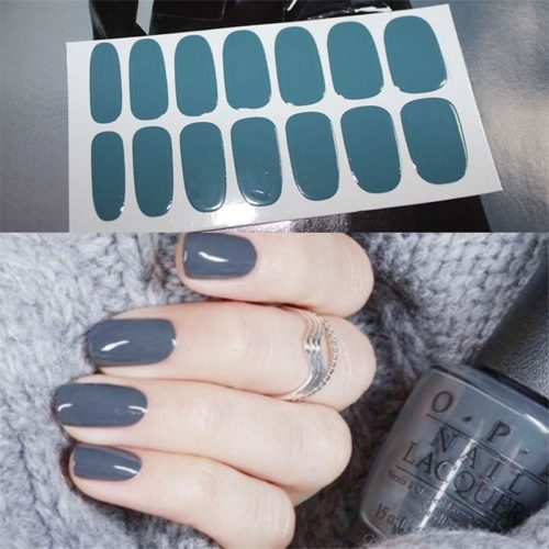 Nail Polish Stickers DIY Set