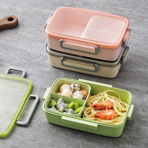 Kids Bento Lunch Box Food Container