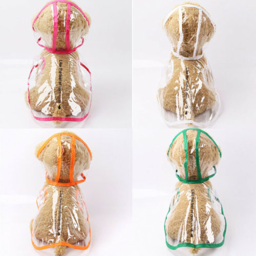 Puppy Raincoat Waterproof Coat