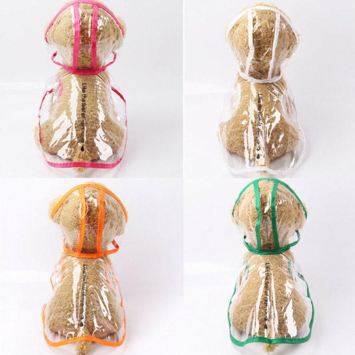 Puppy Raincoat Waterproof Coat