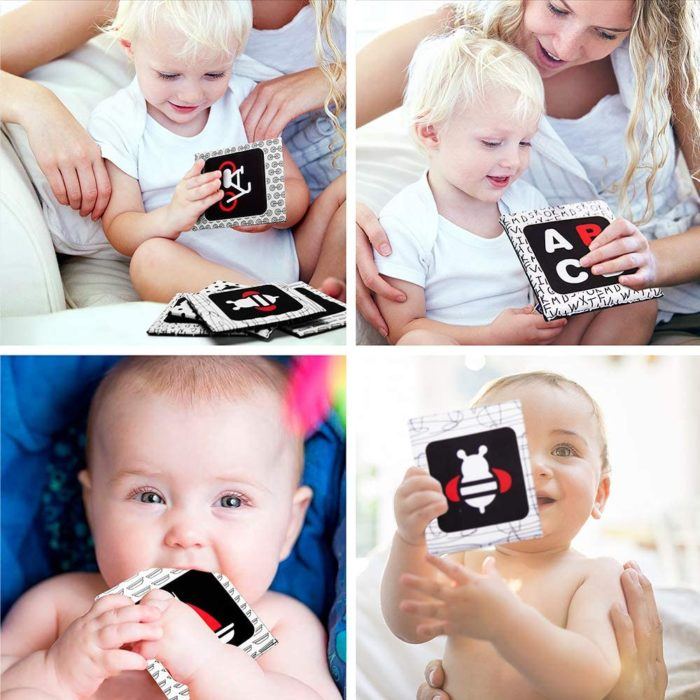 Soft Flashcards for Baby Learning