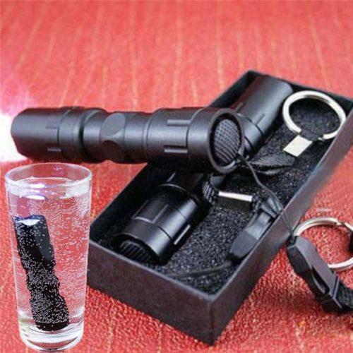 Pocket Flashlight Waterproof Device