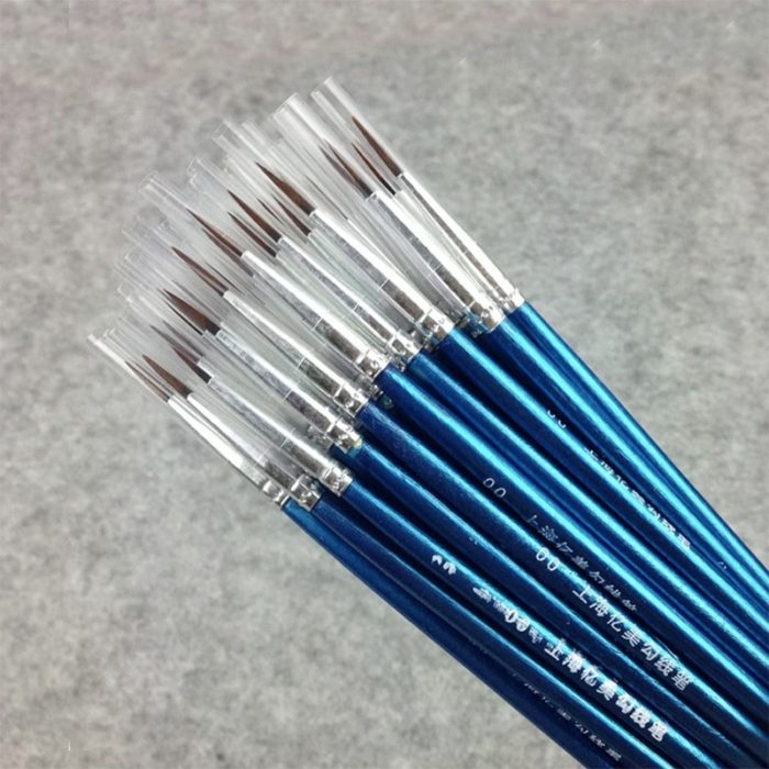 Fine Paint Brushes Artist Tools (20pcs)