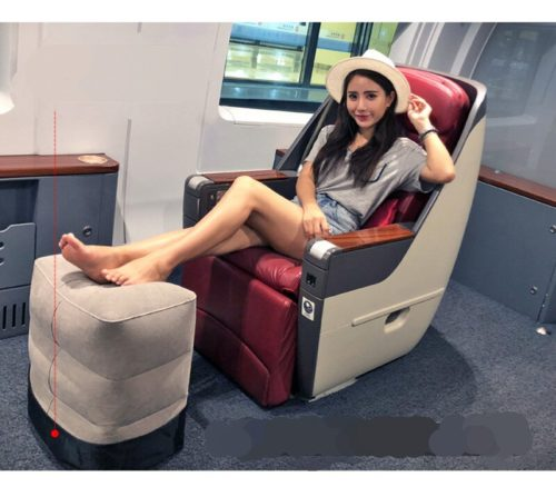 Travel Footrest Inflatable Foot Cushion