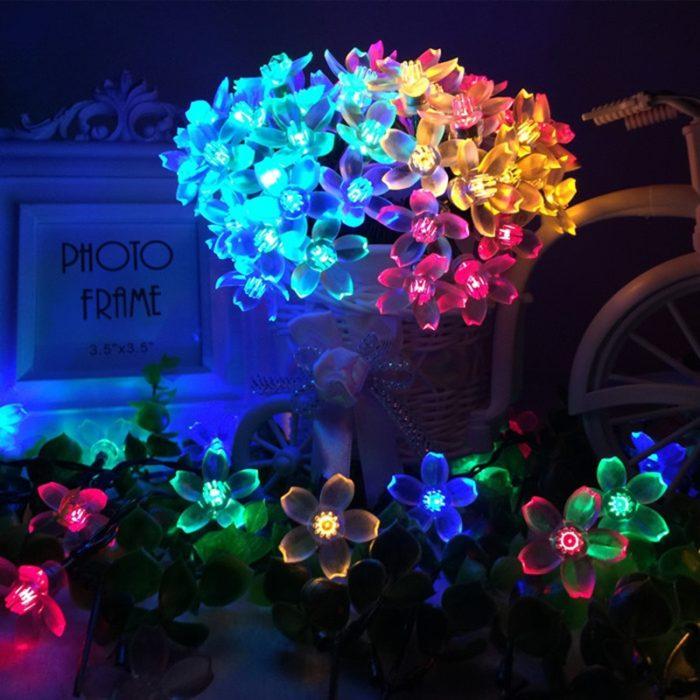 Outdoor Solar String Lights Decorative Lamp
