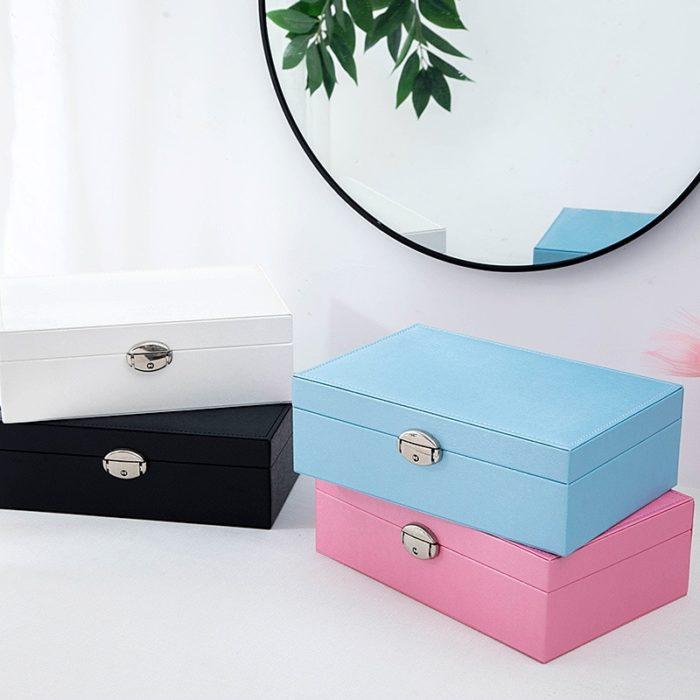 Jewelry Storage Box Portable Case