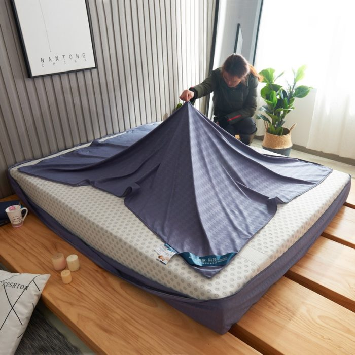 Zipper Bed Cover 360 Protection