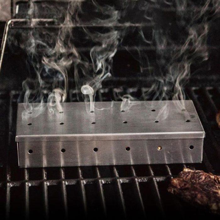 Smoker Box Wood Chip Smoker