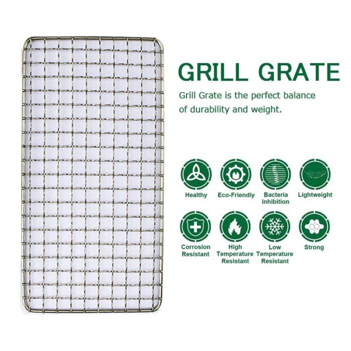 BBQ Grill Racks with Storage Bag (2pcs)