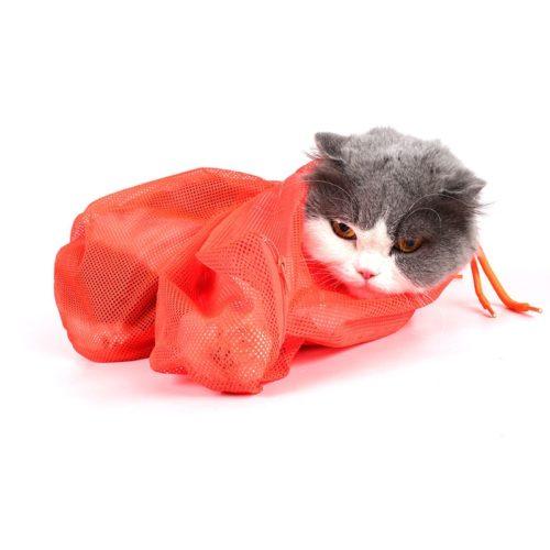 Cat Restraint Bag Mesh Bag