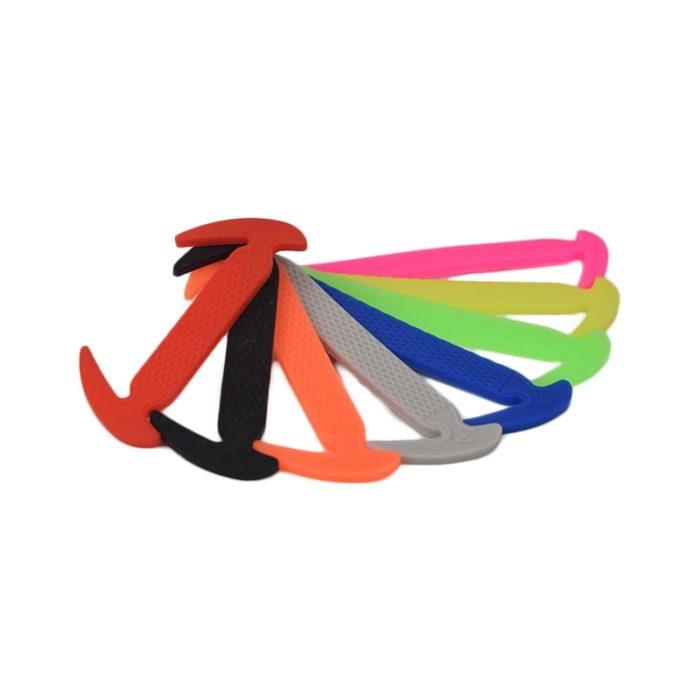Silicone Shoelaces Elastic Laces (12pcs)