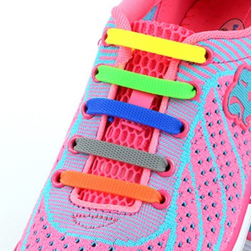 Silicone Shoelaces Elastic Laces (12pcs)