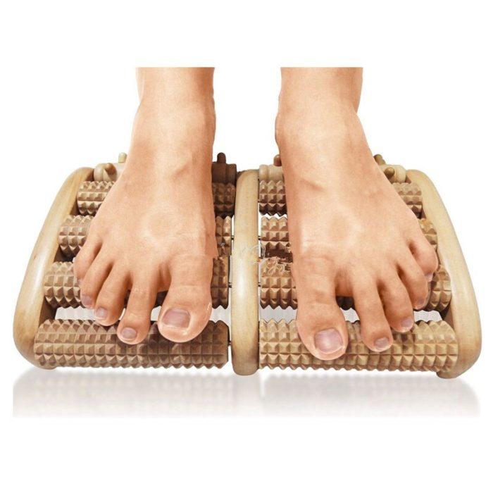 Foot Massage Roller Wooden Foot Massager