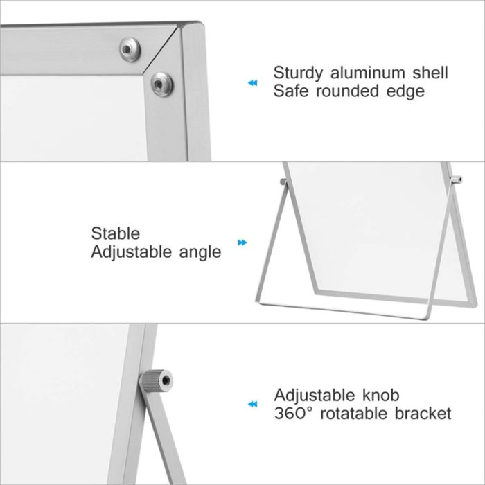 Double-Sided Portable Whiteboard