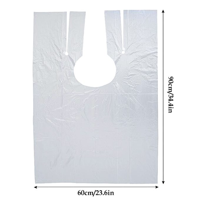 Disposable Salon Capes for Hairdressing