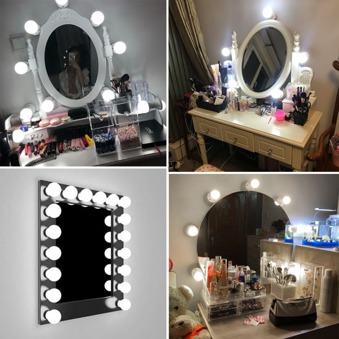 Lights for Mirror with 12V LED Bulbs