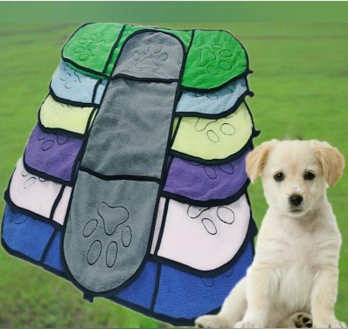 Dog Drying Towel Pet Absorbent Cloth