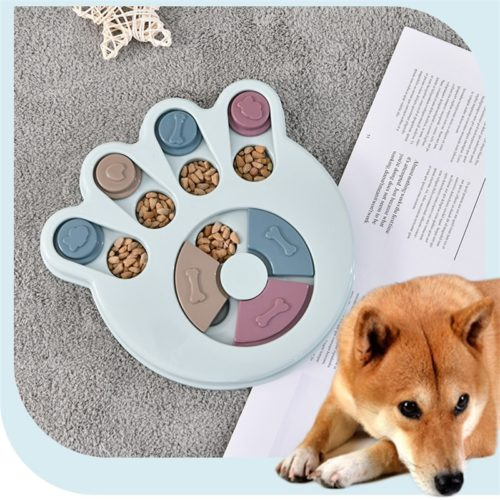 Dog Puzzle Dog Training Toy and Feeder