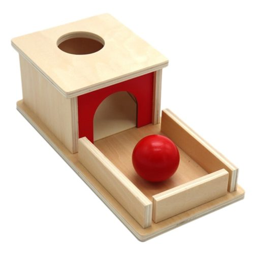 Object Permanence Box Montessori Toy