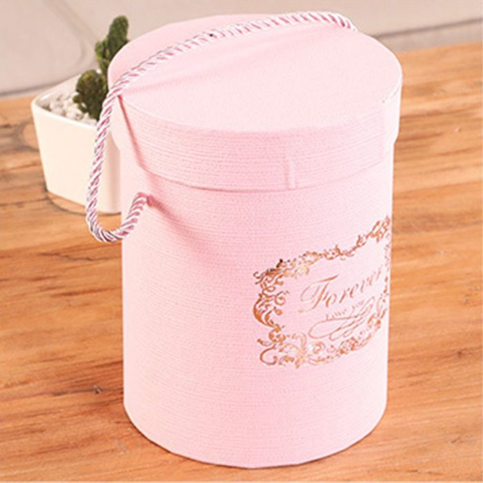 Round Flower Box Paper Packaging