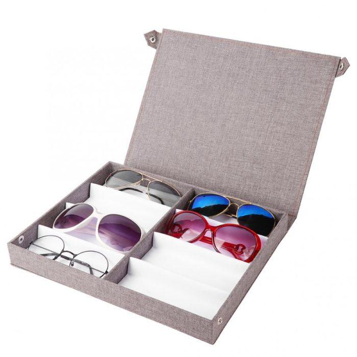 Sunglass Display Case Storage Organizer