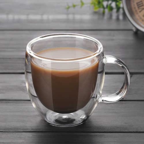 Double Wall Cup Glass Drinkware